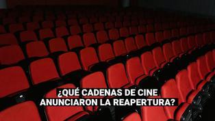 Cines en Perú: Conozca cuáles son las cadenas que anunciaron la reapertura de sus salas