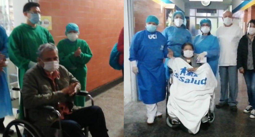Médico y profesora vencen al COVID-19 tras permanecer más de 50 días en UCI | VIDEO