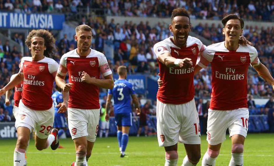 Arsenal se mide a Newcastle por la Premier League. (Foto: AFP).
