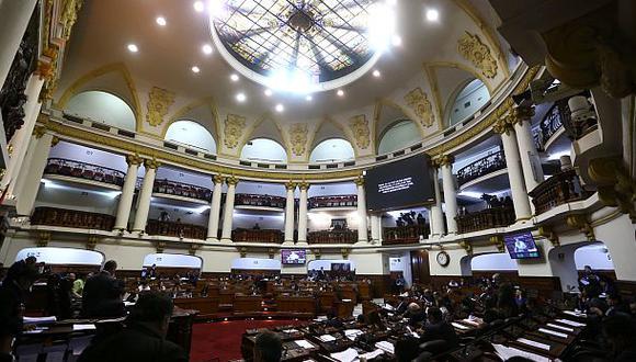 El Pleno del Legislativo debatirá este viernes el dictamen de la Comisión de Constitución que elimina la inmunidad parlamentaria. (Foto: Congreso)