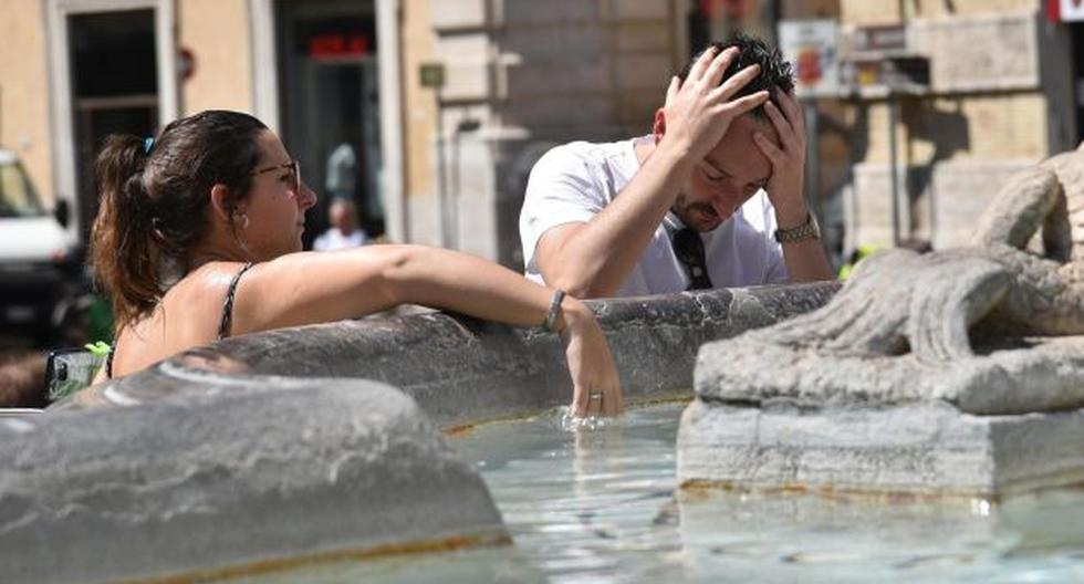 Ola de calor en Italia ha dejado un muerto. (EFE)