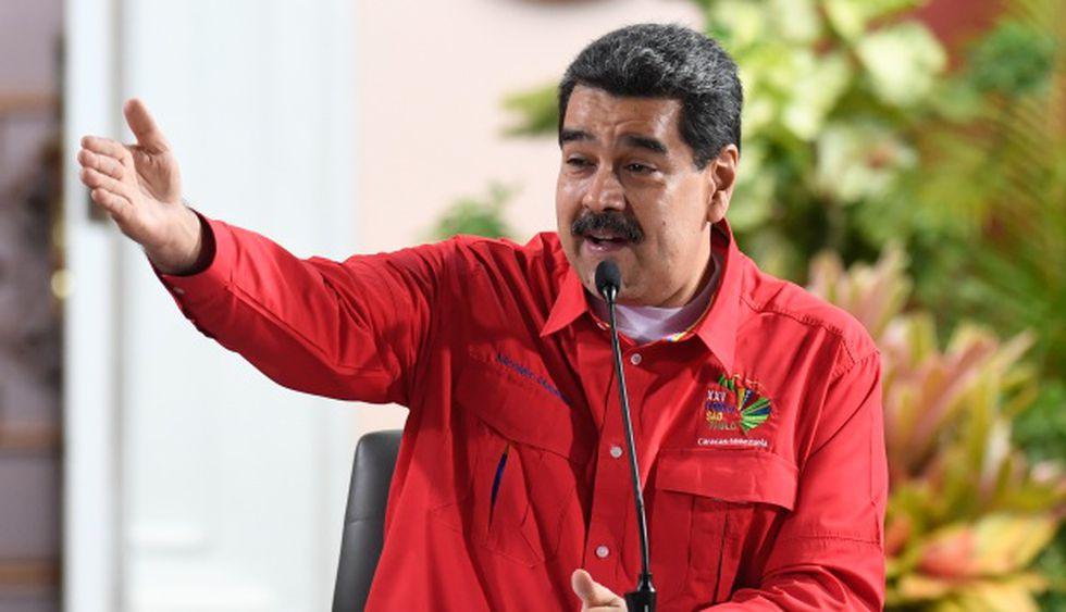 """Régimen de Maduro califica como """"terrorismo económico"""" el bloqueo de EE.UU. (Foto: AFP)"""