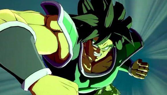Broly es el nuevo personaje de Dragon Ball Fighterz (Bandai)
