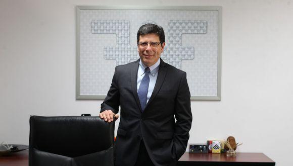 Martín Naranjo, presidente de Asbanc. (Foto: USI)