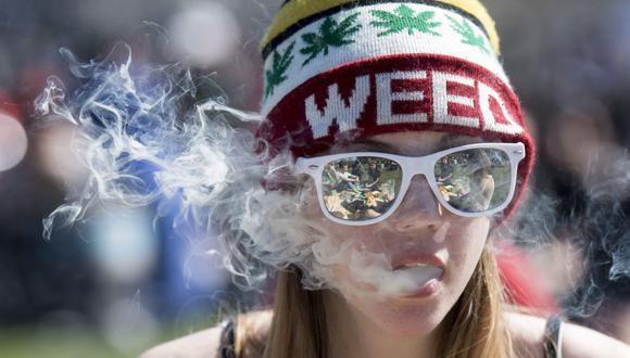 Adolescentes de Estados Unidos consumen 10 veces más marihuana que hace 30 años. (Foto: AFP)