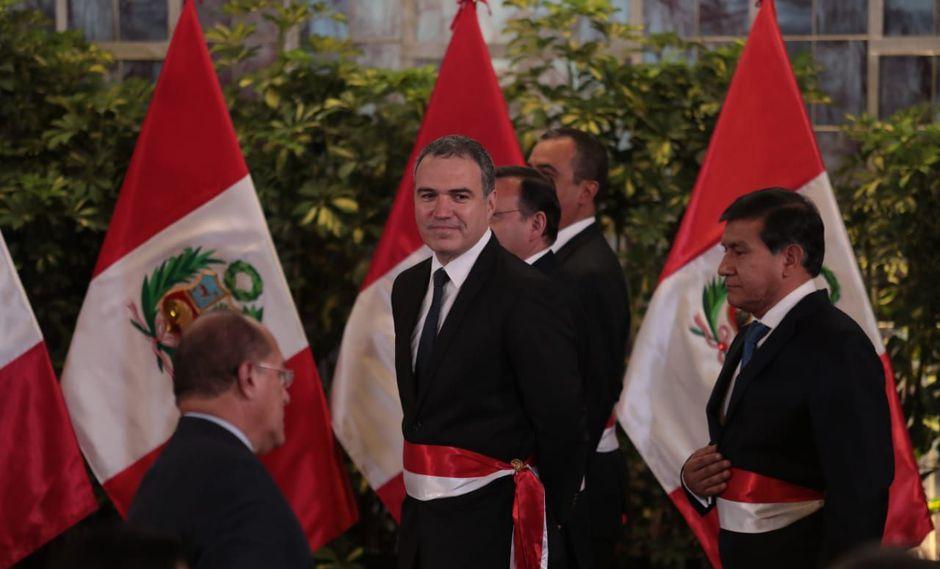 El presidente del Consejo de Ministros, Salvador del Solar, asumió el cargo este lunes 11 de marzo. (Foto: GEC)