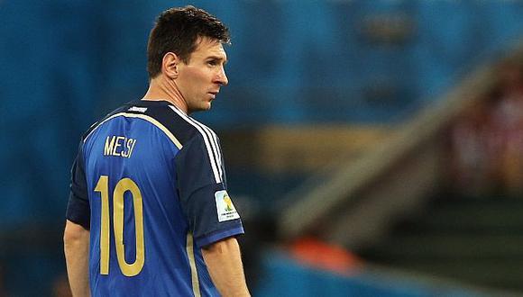 Messi se mostró muy triste por la noticia. (EFE)