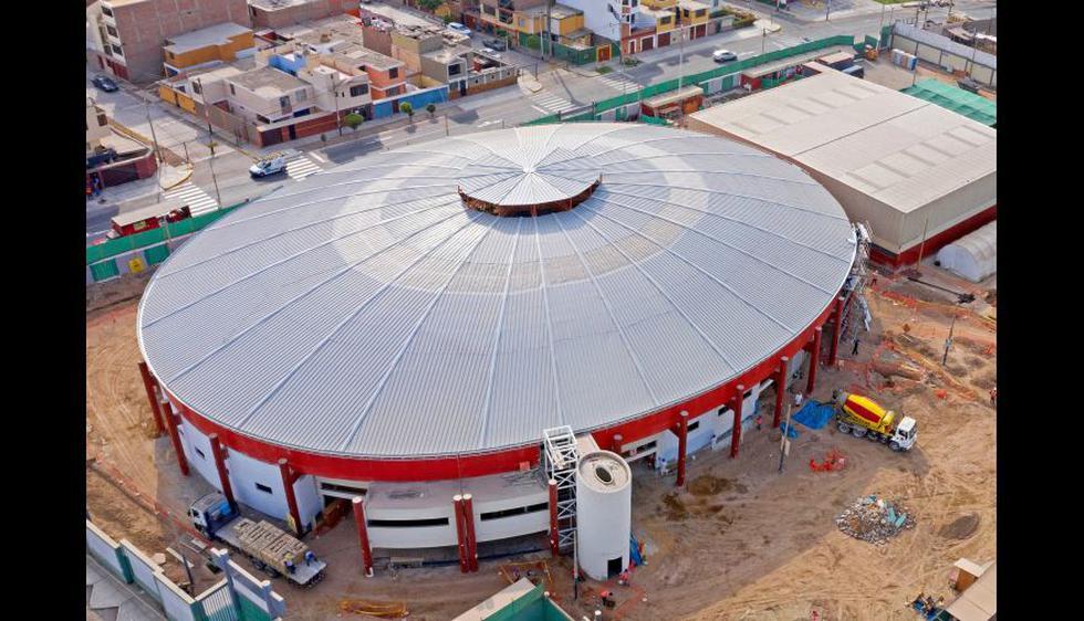 Villa Deportiva Regional del Callao: Coliseo Miguel Grau.(Fotos: Lima 2019)