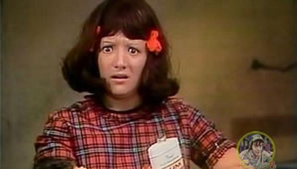 """Malicha apareció por primera vez en """"El Chavo del 8"""" en 1974 (Foto: captura de pantalla/ Youtube)"""