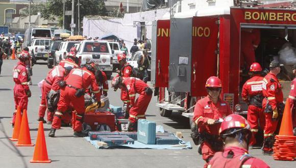 Bomberos y Policía atienden emergencias las 24 horas del día. (USI)