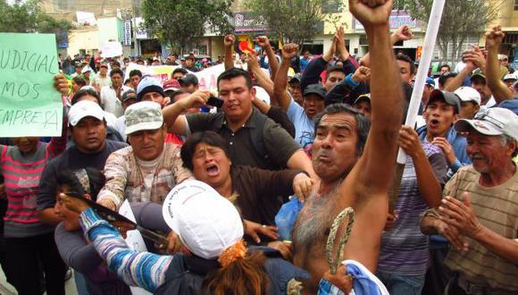 Anunciaron que radicalizarían sus protestas si no toman en cuenta su pedido. (USI)