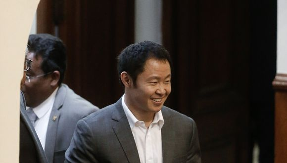 Congresista Kenji Fujimori espera que su bancada respalde su proyecto para el retorno del Senado.