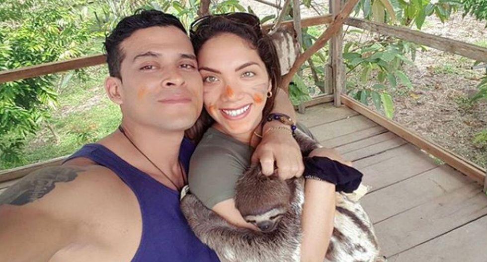 Isabel Acevedo reveló cuánto tiempo de relación tiene con Christian Domínguez. (Instagram)