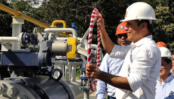 OPTIMISTA. Humala destacó beneficios de la extracción petrolera. (Difusión)