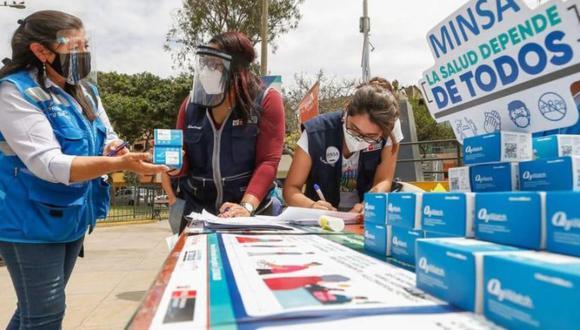 Repartieron más de 80 mil pulsioxímetros en todo el Perú para control temprano del COVID-19 (Foto: Minsa)
