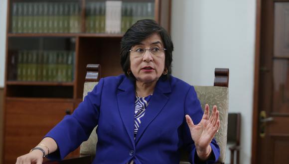 """La presidenta del Tribunal Constitucional, Marianella Ledesma, señaló que la aplicación de la pena de muerte en el Perú es una """"situación zanjada"""" a nivel constitucional. (Foto: GEC)"""