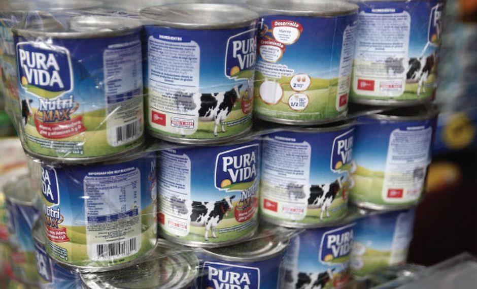 El producto Pura Vida ya no puede catalogarse como leche evaporada, señala Digesa.