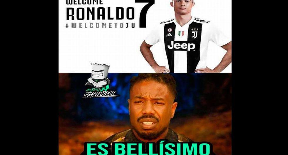 'CR7' es la flamante contratación de la Juventus. (Facebook)
