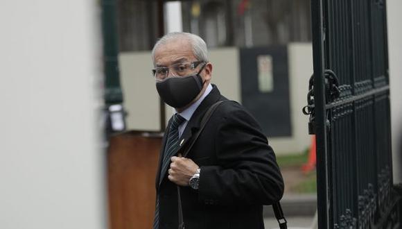 Pedro Chávarry está suspendido por supuestamente obstruir la labor del equipo especial Lava Jato cuando fue fiscal de la Nación. (Foto: Anthony Niño de Guzmán / photo.gec)