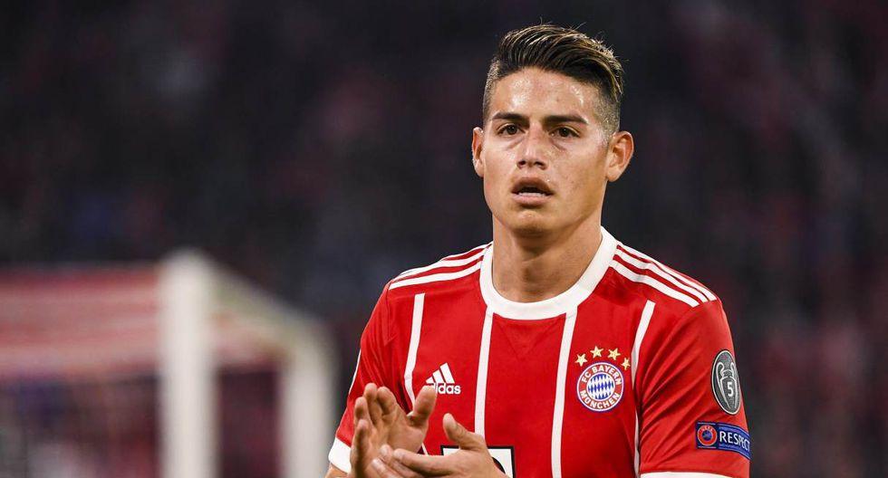 James Rodríguez solicitó no continuar en Bayern Munich. (Foto: EFE)