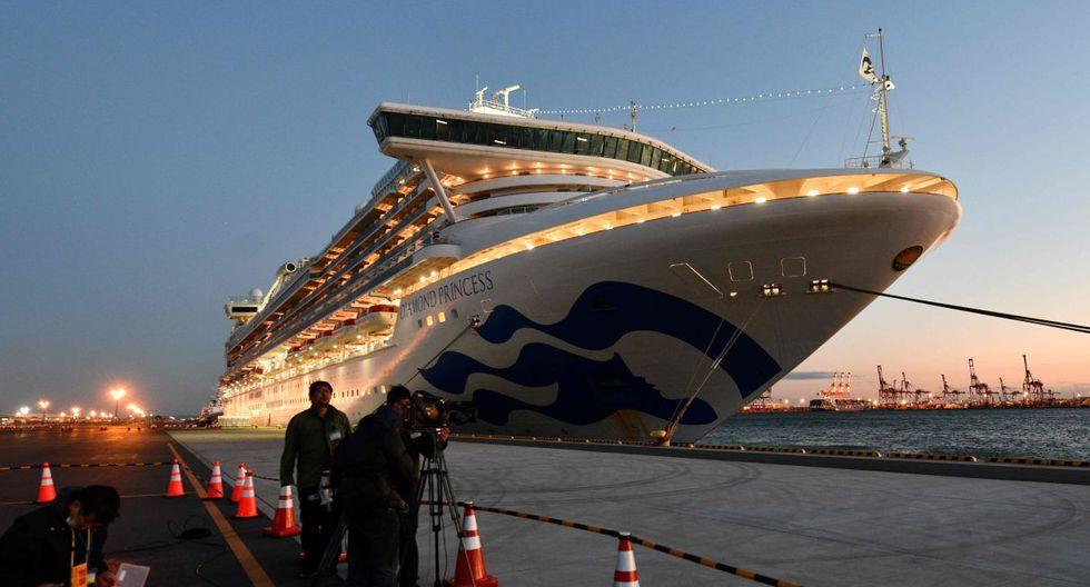 Dos cruceros de placer se convierten en una pesadilla en Japón y Hong Kong por el coronavirus de Wuhan. (AFP).