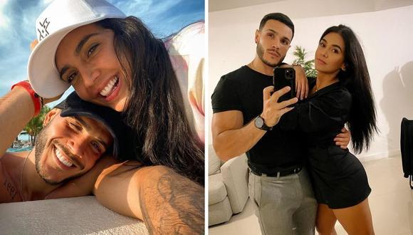 Vania Bludau y Mario Irivarren mantienen una relación desde diciembre del año pasado. (Foto: Instagram @vaniabludau / @marioirivarren).
