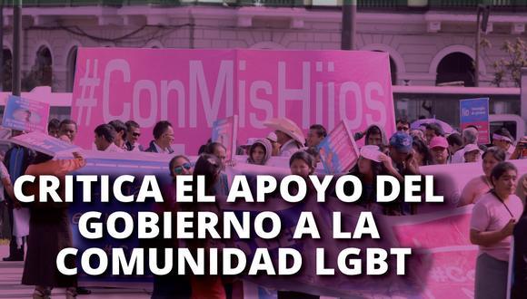 Christian Rosas criticó el apoyo del gobierno a la comunidad LGBT. (Composición|P21)