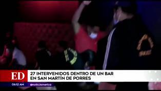 SMP: 27 detenidos en bar en el que se ejercía la prostitución