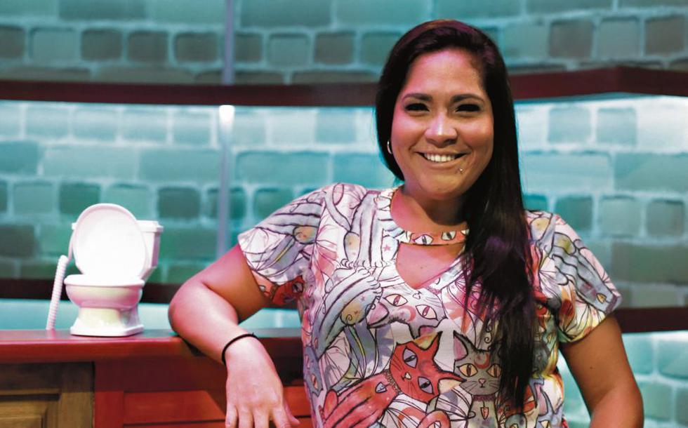 """""""El director Adolfo Aguilar no me ha dicho nada para protagonizar una película. Ya no me da bola"""", señaló. (CésarCampos/Perú21)"""