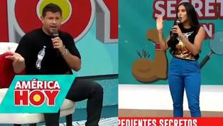 Yaco Eskenazi se disgusta con Melissa Paredes por revelar que se hizo la lipo