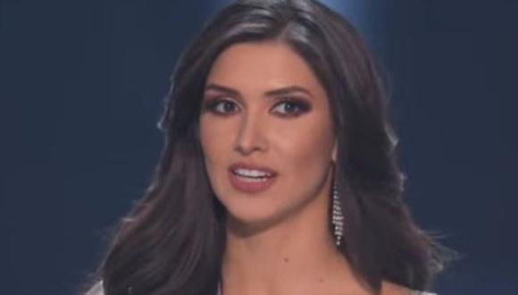 Kelin Rivera tuvo emotivo discurso en el Miss Universo 2019. (Foto: TNT)
