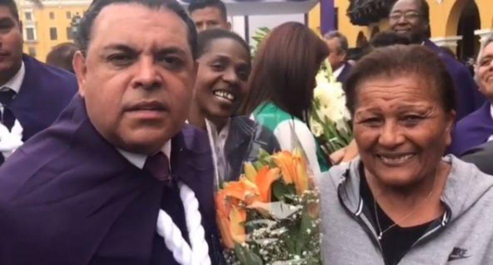 'Chibolín' y 'Doña Peta'. (Instagram/@andreshurtado)