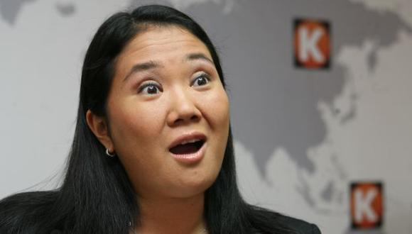 NO SUELTA PRENDA. Keiko afirma que es un poco prematuro hablar de su candidatura. (Luis Gonzáles)