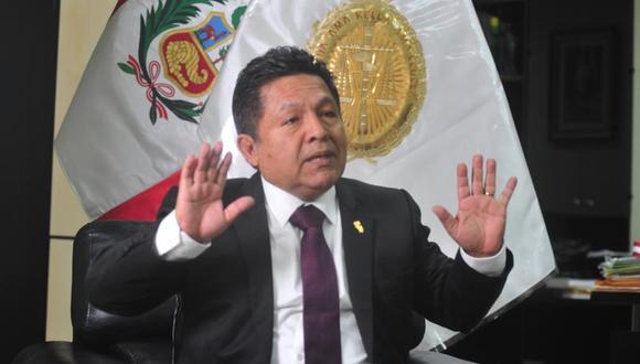 Ramos Heredia advirtió sobre una posible elección de Tomás Gálvez como el próximo fiscal de la Nación pese al acuerdo de la Junta de Fiscales Supremos respecto a la elección del fiscal con mayor antigüedad.  (Foto: GEC)