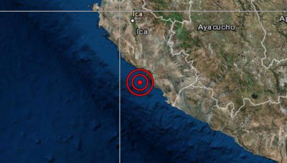 El epicentro de este movimiento telúrico se ubicó a 57 kilómetros al noroeste de Marcona, en la provincia de Nazca, en la región de Ica. (Foto: IGP)