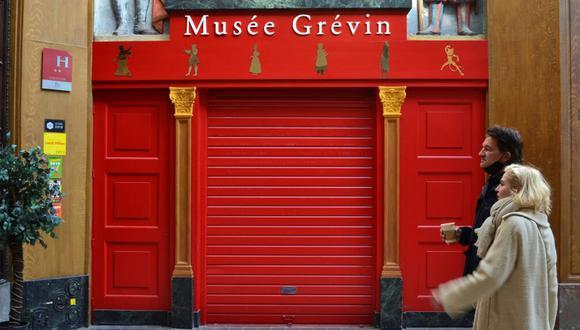 Museo Grévin de París, cerró desde finales de octubre de 2020 debido a la pandemia por coronavirus. (Foto: EFE)