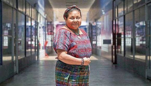 """Rigoberta Menchú: """"Lo más grave en la violencia  a la mujer es la impunidad"""". (Piko Tamashiro/Perú21)"""