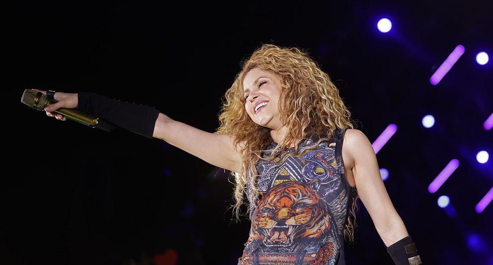"""Shakira: la película de la gira """"El Dorado"""" llegará a Perú en Noviembre. (Foto: AFP)"""