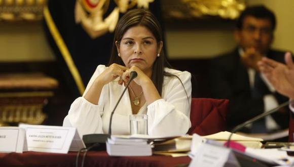 """Karina Beteta: """"No somos obstruccionistas sino facilitadores"""". (USI)"""