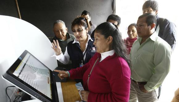 Elecciones 2016: ONPE dispone locales para que practiques el voto electrónico. (Andina)
