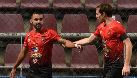 Caracas llegó a esta instancia tras eliminar a  Sport Huancayo. (Foto: AFP)