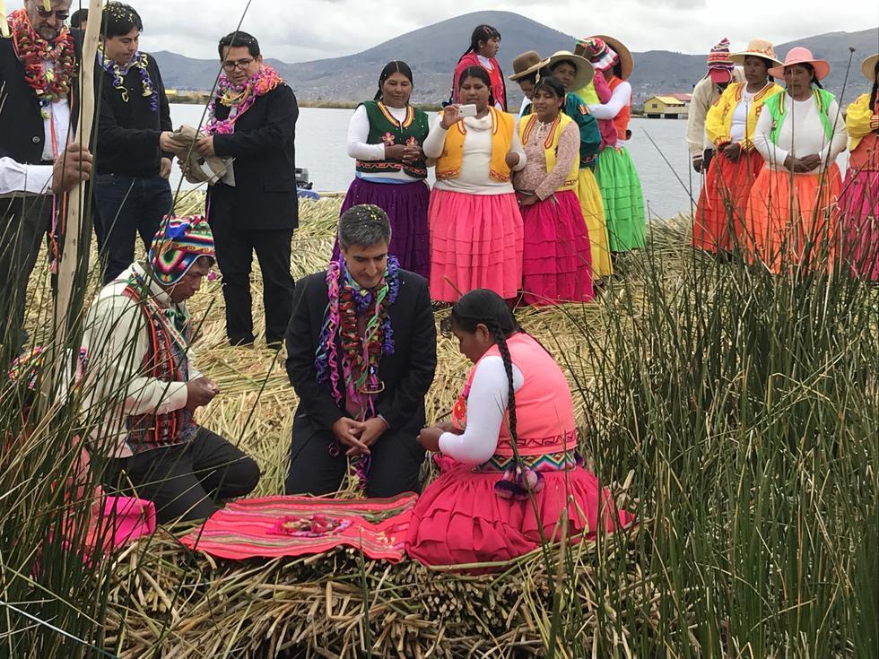 Ministro de Cultura visitó Puno por las fiestas de la Virgen de la Candelaria. (MinisterioDeCultura)