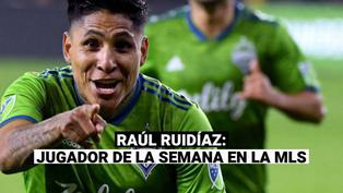 Raúl Ruidíaz: delantero figura en el once ideal de la MLS tras anotar un golazo