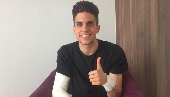 Marc Bartra mejora tras lesión en atentado al Borussia Dortmund. (Facebook)