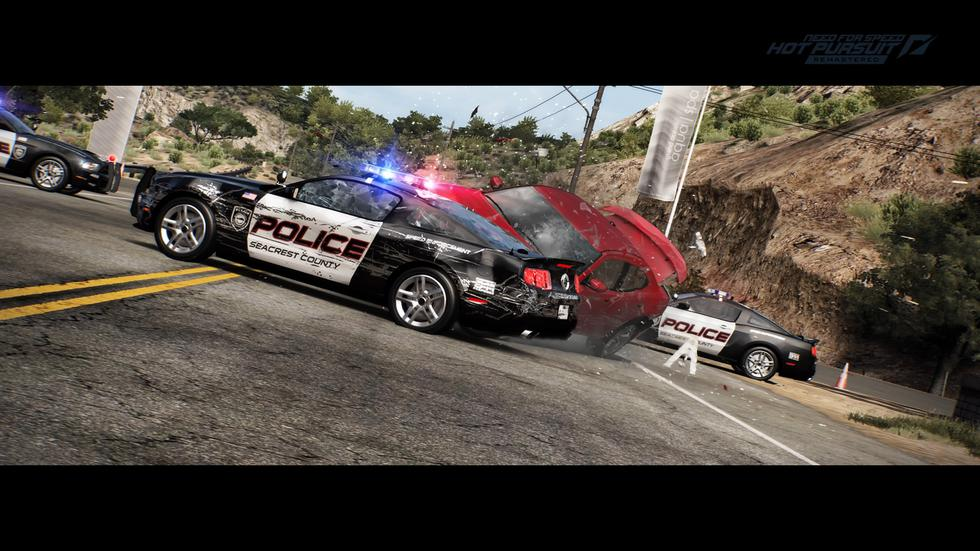 'Need for Speed Hot Pursuit Remastered' llega a PlayStation 4, Xbox One, Nintendo Switch y PC.