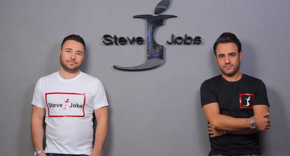 Los hermanos indican que Apple no los demandó por el nombre sino por el logo de su compañía. (Hermanos Barbato)
