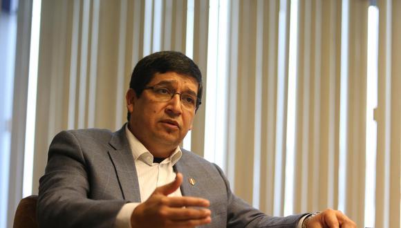 Óscar Chiri, secretario general de la FPF, se pronunció sobre el tema de la vacunación a la selección peruana. (Foto: GEC)