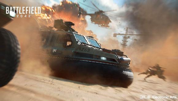 'Battlefield 2042' saldrá a la venta el próximo 22 de octubre de 2021.