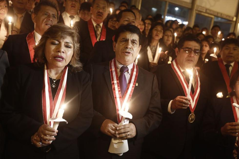 Tomás Gálvez es fiscal supremo y votó a favor de la asunción de Pedro Chávarry. (Perú21)