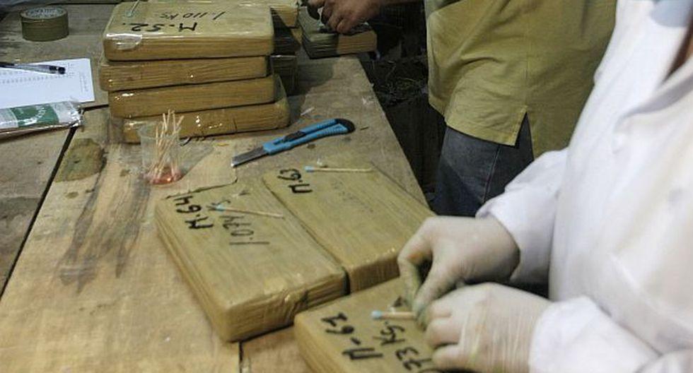 Cada paquete contenía aproximadamente un kilo de droga. (Perú21/Referencial)